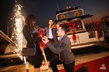 Karaburun Havai Fişek Gösterisi Karaburun Yer Volkanı Karaburun Işıklı Uçan Balon İzmir Organizasyon