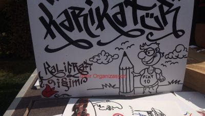 Karikatürist ve Karikatür Çizimi İzmir