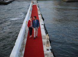 Yelken Kulübünde Evlilik Teklifi Organizasyonu Yürüyüş Yolu