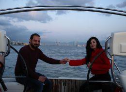 Körfez Turu ve Şampanya ile Evet Cevabını Kutlama Anı