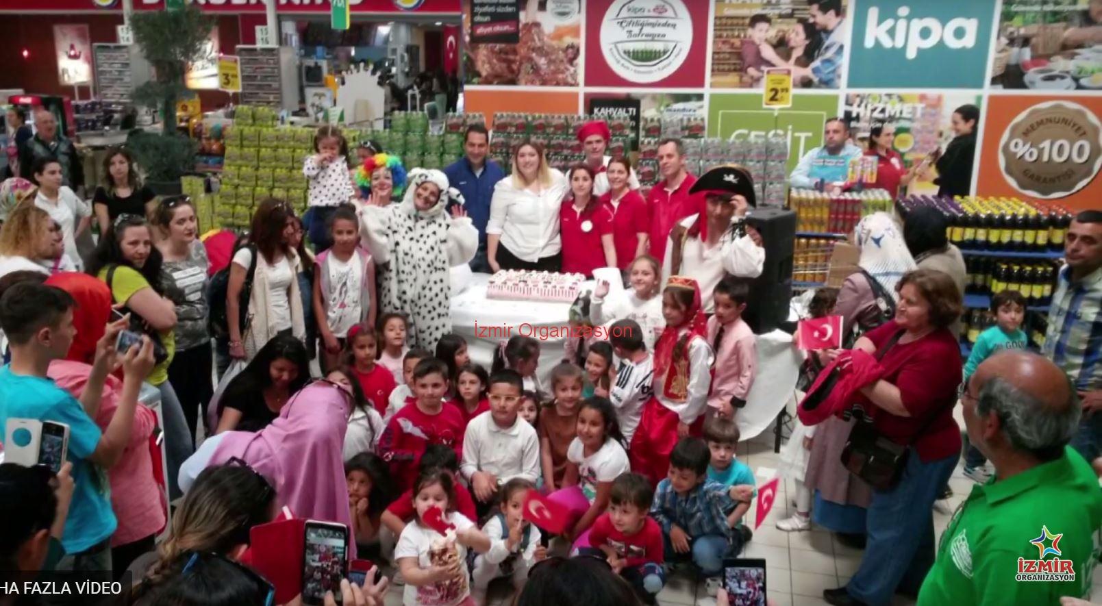 Kipa 23 Nisan şenlikleri Izmir Organizasyon