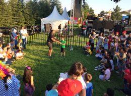 Aile günü Etkinliği Jonglör Gösterisi
