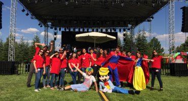 Kırıkkale Tüpraş Aile Günü Etkinliği ve Şenlik Organizasyonu İzmir Organizasyon