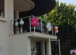 Papatya Balon Süsleme İzmir