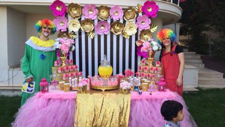 Sweet Table Süsleme Doğum Günü Organizasyonu