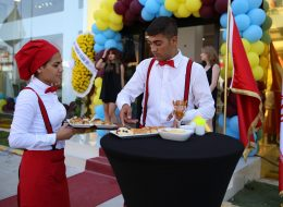 Kokteylli Açılış Organizasyonu Kokteyl Menüsü ve Catering Ekipmanları Kiralama İzmir
