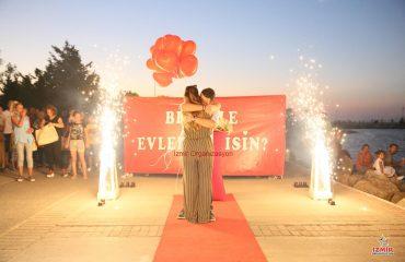 Konak Havai Fişek Gösterisi Konak Yer Volkanı Konak Işıklı Uçan Balon İzmir Organizasyon