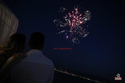 Köprübaşı Havai Fişek Gösterisi Köprübaşı Yer Volkanı Köprübaşı Işıklı Uçan Balon Temini İzmir Organizasyon