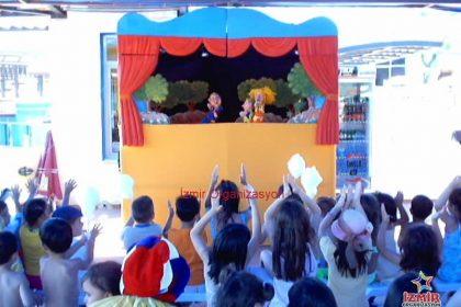 Kukla Tiyatrosu El Kuklası Gösterisi İzmir Organizasyon