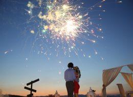 Gün Batımında Sahilde Romantik Evlilik Teklifi Organizasyonu Çeşme