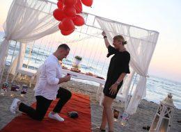 Kırmızı Halı Sürpriz Evlenme Teklifi Organizasyonu