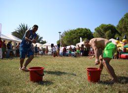 Kurumsal Piknik Organizasyonu Süngerle Su Taşıma Yarışması ve Takım Oyunları İzmir