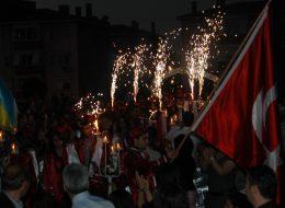 Yer Volkanı Gösterisi Lise Mezuniyet Organizasyonu İzmir