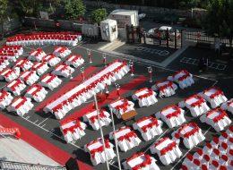 Kırmızı Halı Kiralama ve Yürüyüş Yolu Süsleme İzmir Mezuniyet Organizasyonu