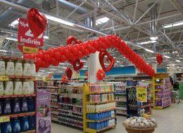 Folyo Uçan Balon ve Zincir Balon Süsleme İzmir