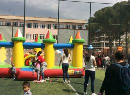 Kuleli Zıp Zıp Şişme Oyun Parkuru Kiralama Manisa