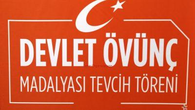 Manisa Valiliği Devlet Övünç Madalyası Tevcih Töreni Organizasyonu İzmir Organizasyon