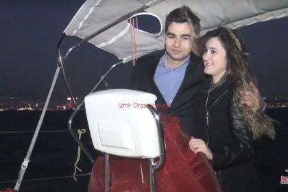Marina Çıkışlı Teknede Evlilik Teklifi Organizasyonu