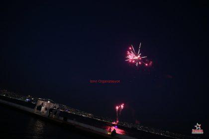 Marmaris Havai Fişek Gösterisi Marmaris Yer Volkanı Marmaris Işıklı Uçan Balon Temini İzmir Organizasyon