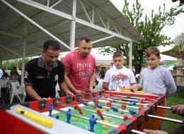 Langırt Oyununda Takımlar Arasında Rekabet Anı İzmir