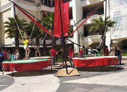 İzmir Festival Organizasyonu Salto Trambolin Kiralama