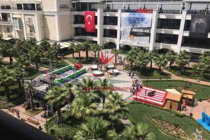 Mavibahçe Gençlik Festivali Şişme Oyuncak Kiralama İzmir