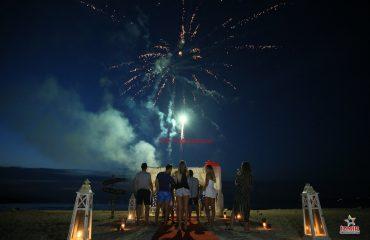 Menderes Havai Fişek Gösterisi Menderes Yer Volkanı Menderes Işıklı Uçan Balon İzmir Organizasyon