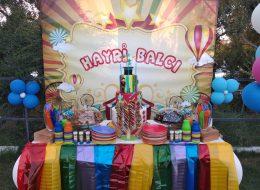 Şeker Barı Kurulumu Doğum Günü Organizasyonu Milas