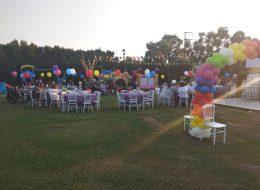 Sihirbaz Konseptli Doğum Günü Organizasyonu Uçan Balon Süsleme Milas