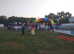 Milas Kapı Takı Balon Süsleme Doğum Günü Organizasyonu