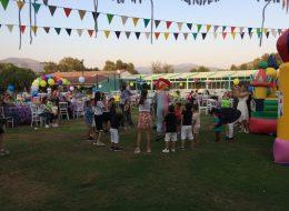 Üçgen Bayrak Süsleme Doğum Günü Organizasyonu Milas