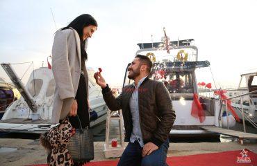 Mutluluk Teknesinde Evlilik Teklifi Organizasyonu Paketleri