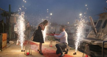 İzmir Teknede Evlilik Teklifi Organizasyonu