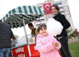 Açılış Organizasyonu Pamuk Şekerci Kiralama İzmir