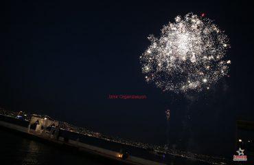 Ödemiş Havai Fişek Gösterisi Ödemiş Yer Volkanı Ödemiş Işıklı Uçan Balon İzmir Organizasyon