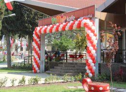 Açılış Organizasyonu Zincir Balon Süsleme Hizmeti İzmir Organizasyon