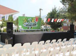 Festival ve Şenlik Organizasyonu Orta Büyüklükte Ses Sistemi Kiralama İzmir