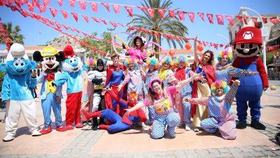 Palyaçolu Animasyonlu Açılış Organizasyonu Palyaço Kiralama İzmir