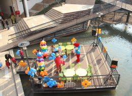 Avm Etkinlikleri Papatya Balon Süsleme Hizmeti İzmir Organizasyon