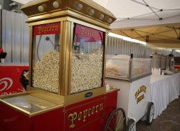 Pop Corn Makinesi Kiralama ve Davetliler İçin Hazırlanan Patlamış Mısırlar