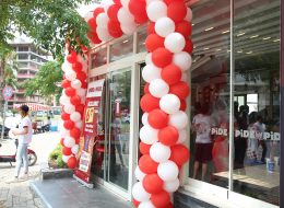 Kapı Girişi Balon Süsleme