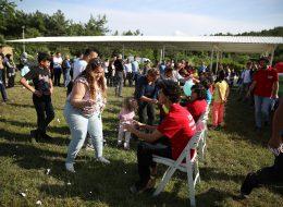 Balon Tıraş Etme Yarışmasında Balonun Patladığı An İzmir Piknik Organizasyonu