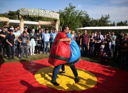 Aile Günü Organizasyonu Sumo Güreşi Oyunu Kiralama İzmir