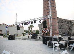 Profesyonel Ses Sahne ve Işık Sistemi Hizmeti İzmir Organizasyon