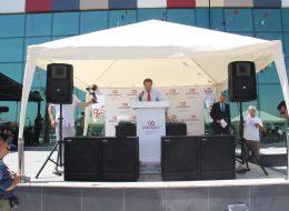 Açılış Kürsüsü ve Ses Sistemi Kiralama Protokollü Açılış Organizasyonu İzmir