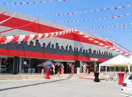 Açılış Organizasyonu Rafya ve Tela Süsleme İzmir
