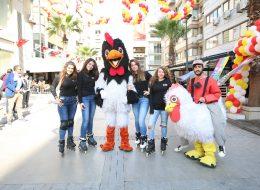 Çizgi Film Maskotları Kiralama ve Patenli İlan Dağıtımı İzmir