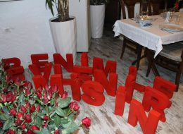 Restoranda Evlilik Teklifi Organizasyonu Restoran Süsleme