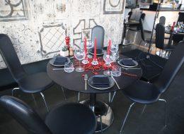 İzmir Restoranda Evlilik Teklifi Organizasyonu Masa Süsleme