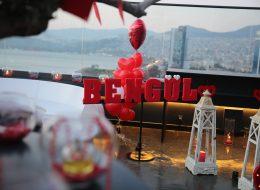 Kırmızı İsme Özel Strafor Harfler Kiralama İzmir Organizasyon